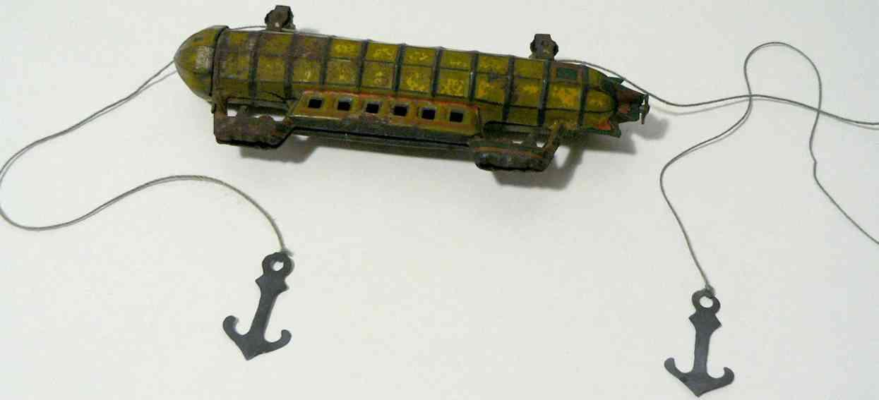 fischer georg penny toy zeppelin mit haken und seil