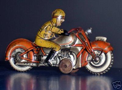 fischer georg 213 penny toy motorradfahrer
