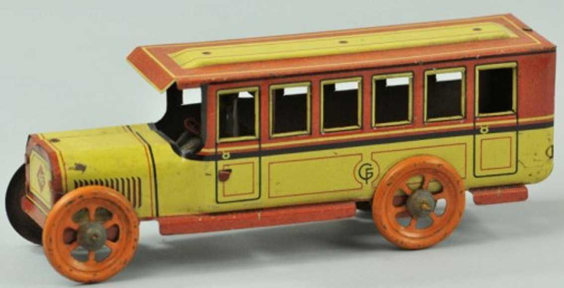 Fischer Georg Penny Toy Interurban bus