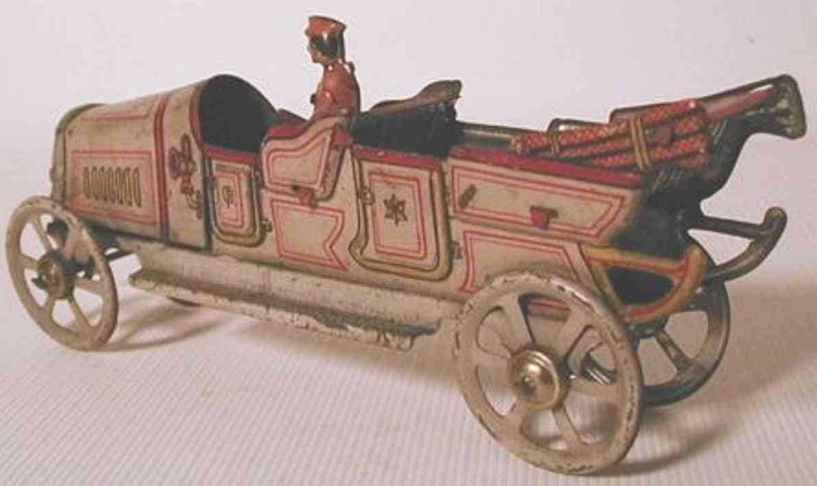 fischer georg penny toy tourenwagen kurbel