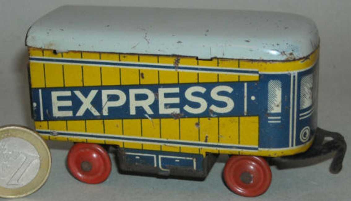 Fischer Georg Penny Toy Express Anhänger