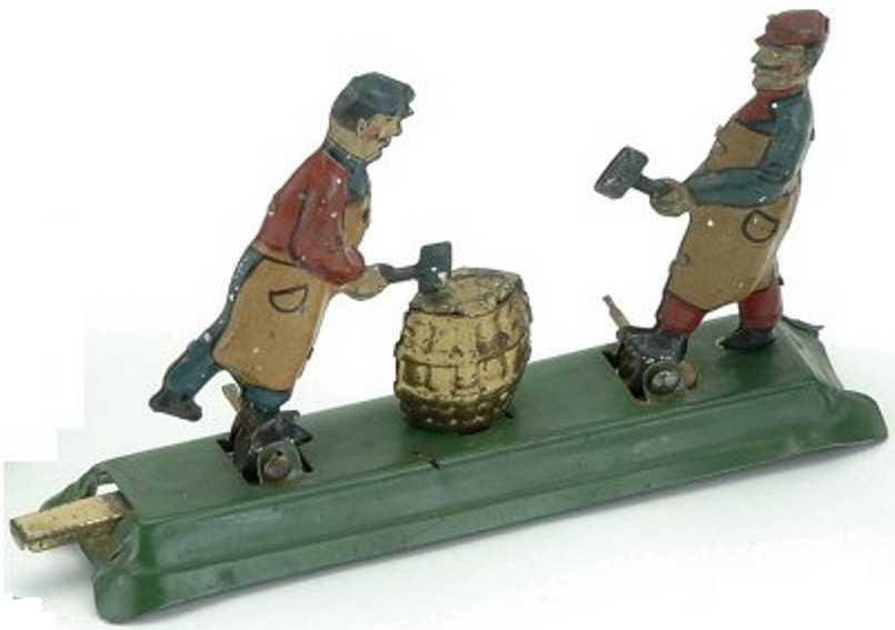 fischer georg blech penny toy fassmacher