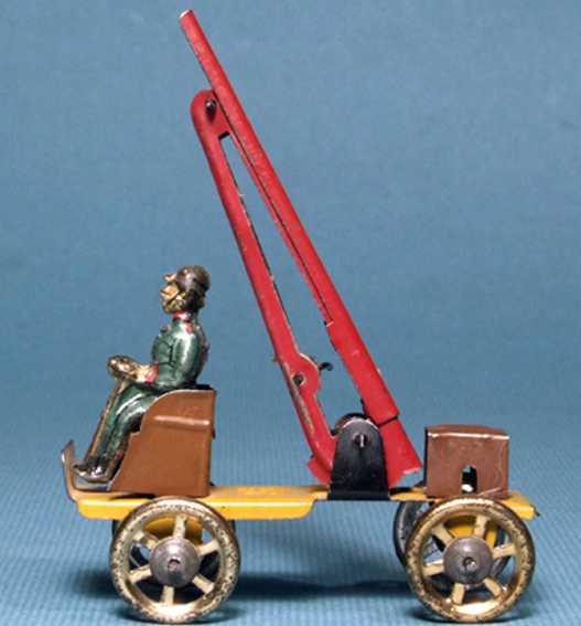 Fischer Georg Penny Toy Feuerleiterwagen