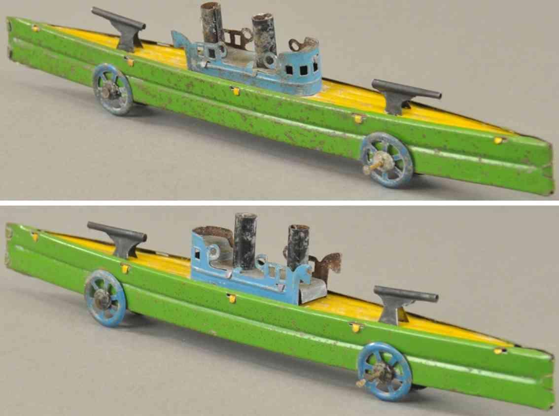 fischer georg penny toy kanonenboot