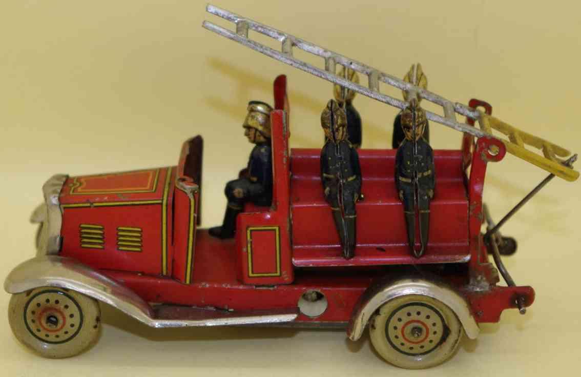 fischer georg penny toy feuerwehrleiterwagen