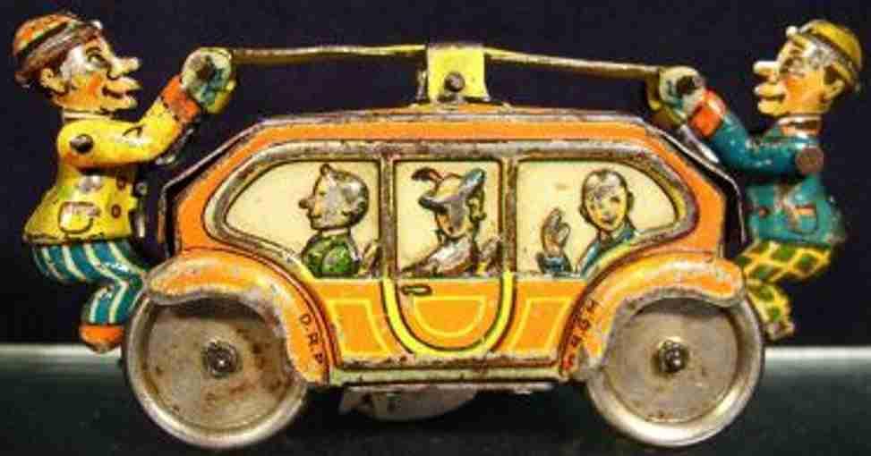 Gescha Penny Toy Draisine mit Uhrwerk