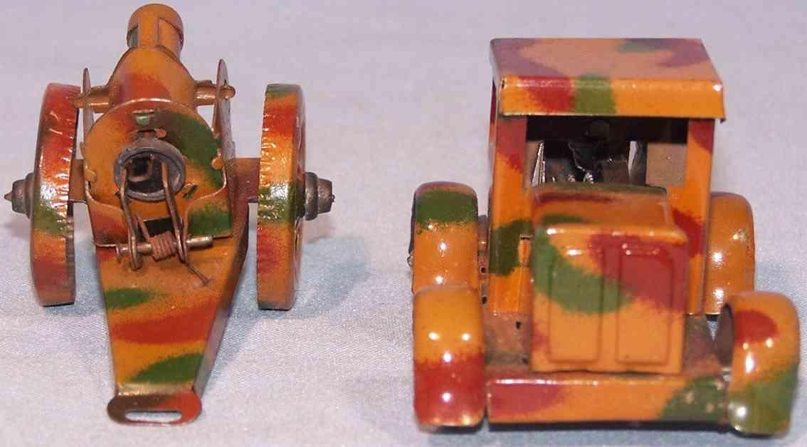 gescha penny toy lastwagen kanone uhrwerk