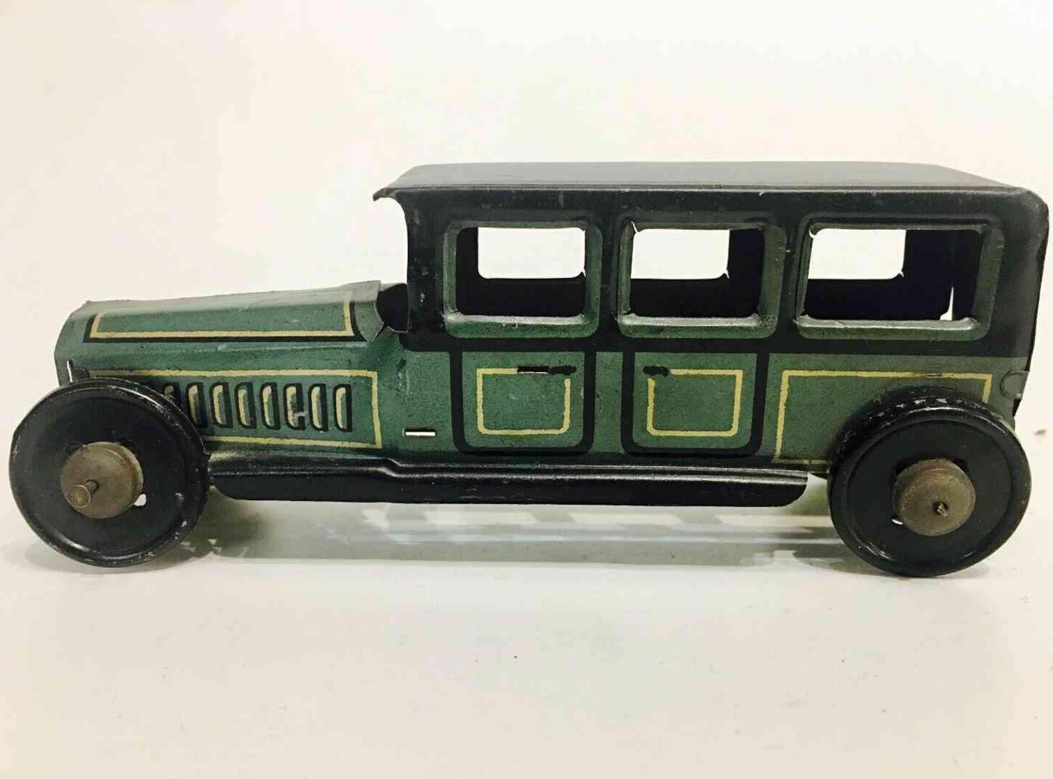 hammerer & kuehlwein 301 penny toy limousine gruen schwarz