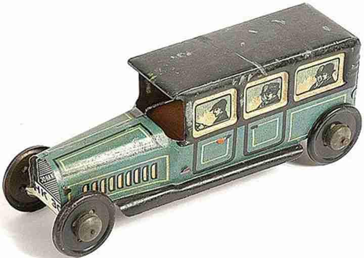 hammerer & kuhlwein 307 penny toy limousine weissblech