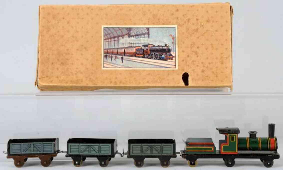 hess 2011/45 penny toy blech gueterzug tenderlokomotive