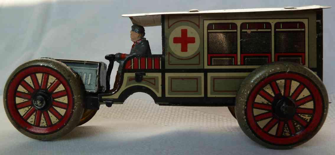 hess penny toy armee rotkreuzwagen