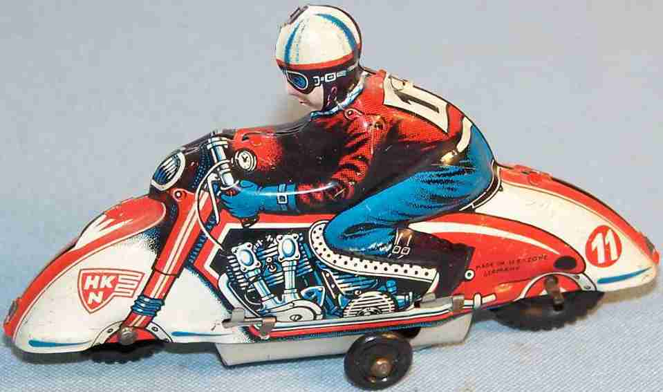 huki kienberger 11 penny toy motorrad
