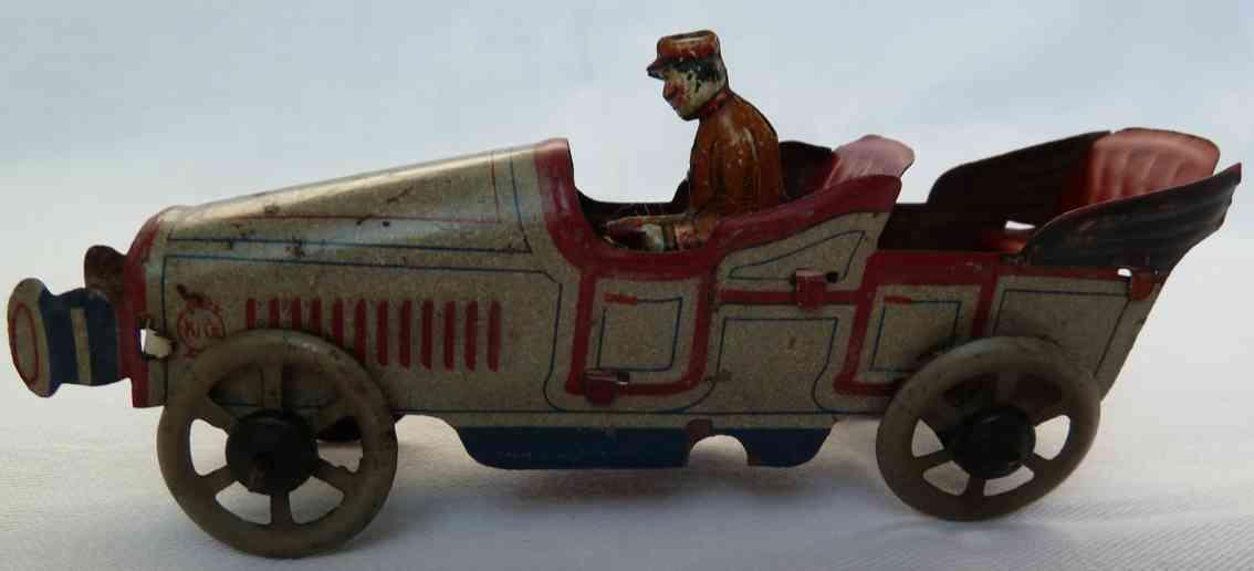 huki kienberger 112/46 penny toy limousine fahrer