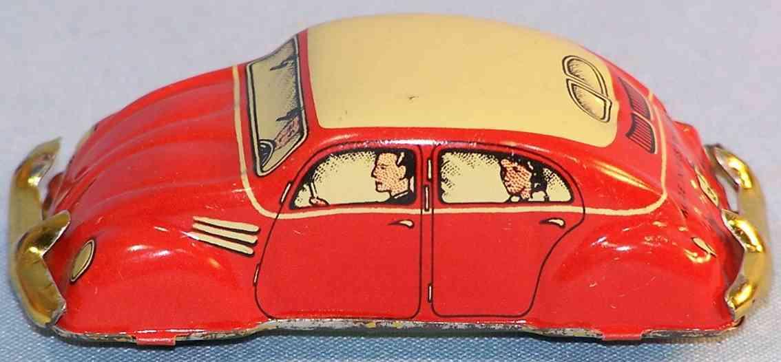 huki kienberger 392 penny toy vw kaefer berliner taxi rot