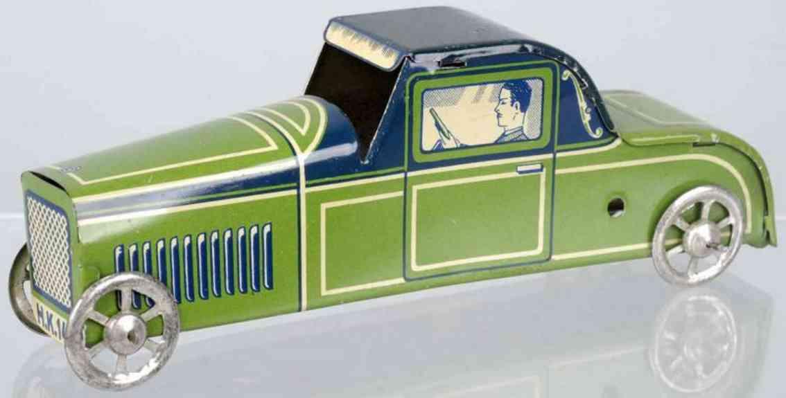 huki kienberger hk 141 penny toy limousine aus blech