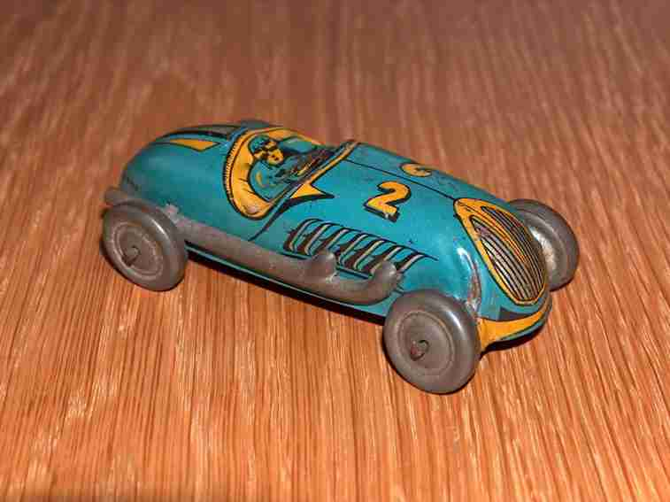 Ingap Penny Toy Racing car lettering 2