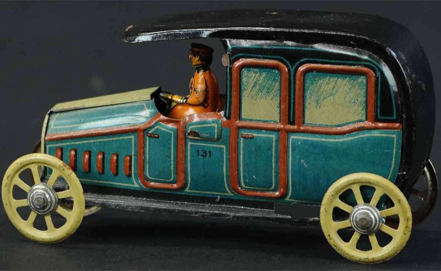 kellermann 131 penny toy limousine fahrer