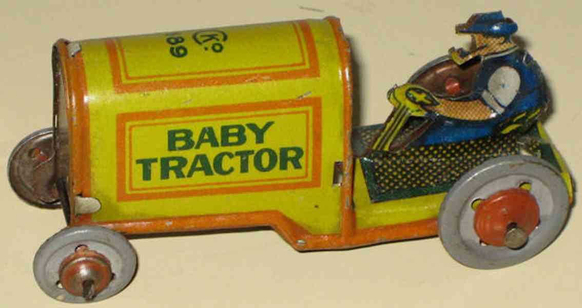 kellermann 189 penny toy baby traktor