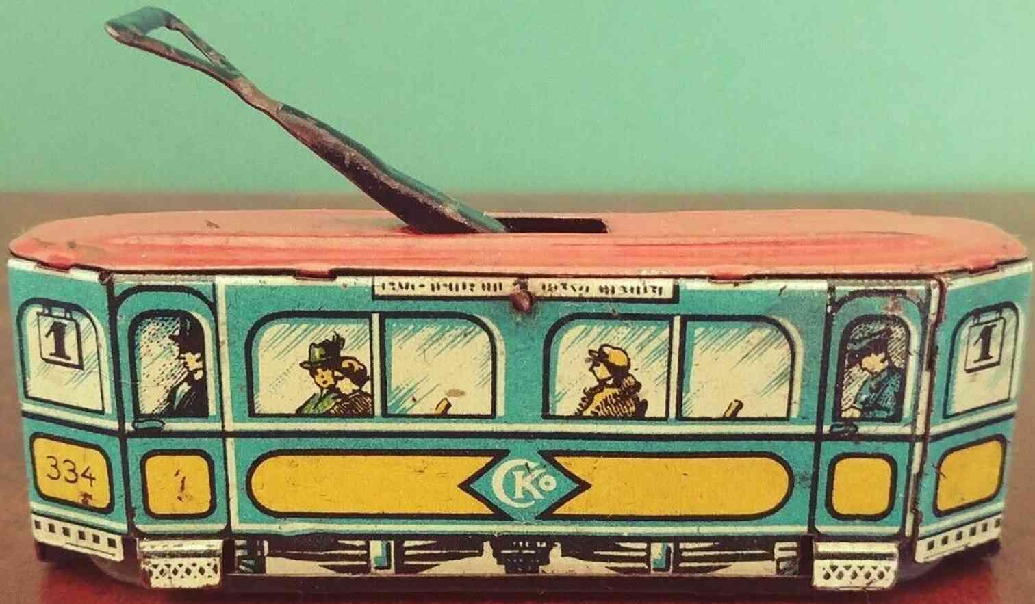 kellermann 334 penny toy strassenbahn mit uhrwerk