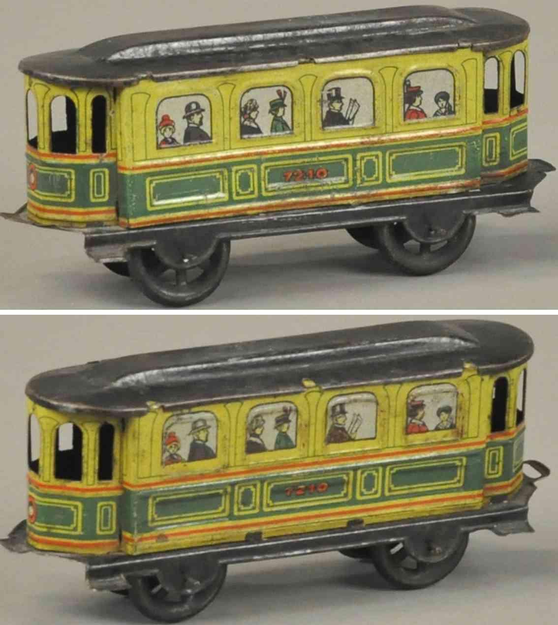 kellermann 7210 penny toy strassenbahn