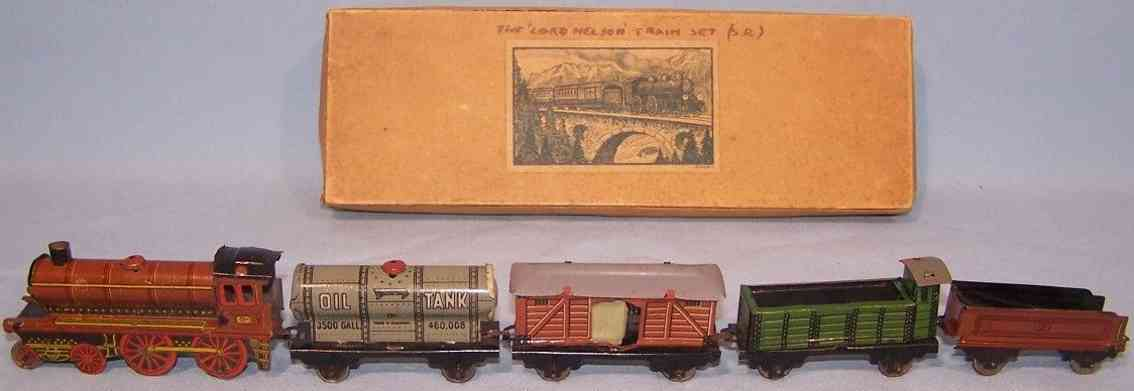 kellermann penny toy zug aus blech lok tender gueterwagen hochwagen