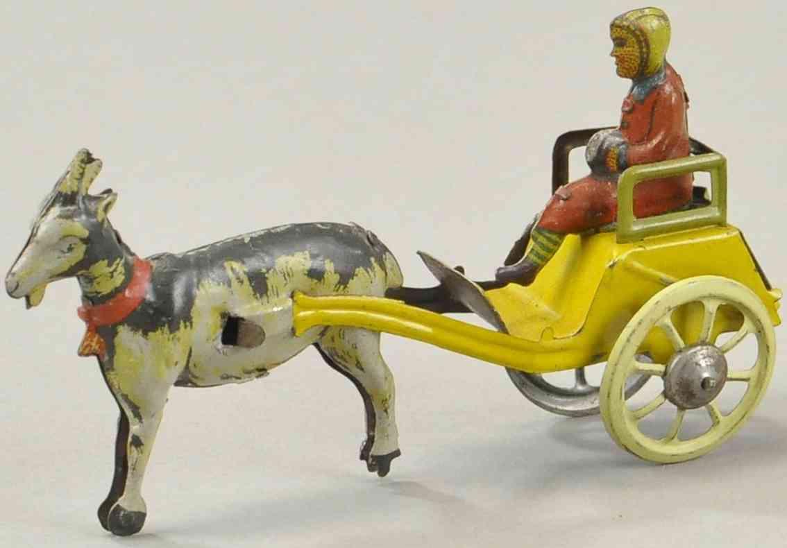 kellermann penny toy maedchen sitzt auf karre ziege