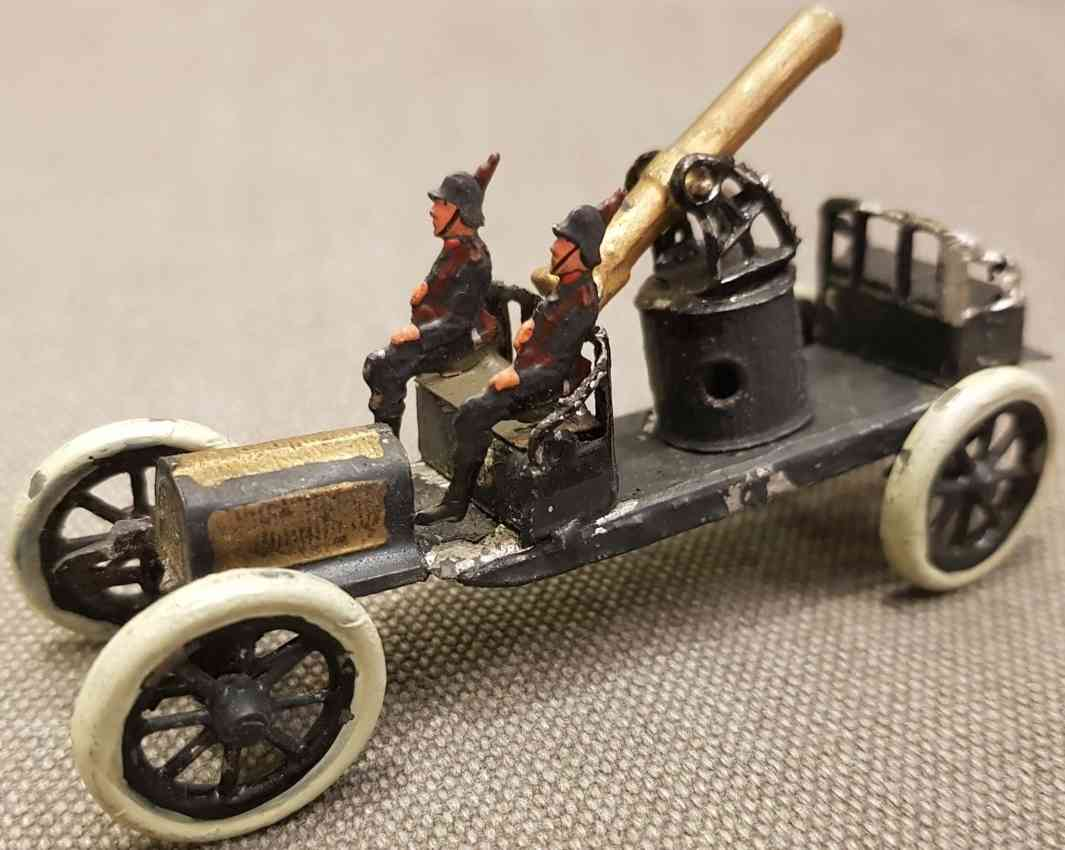 krause theodor enny toy imperial army mobile cannon truck from the first world war