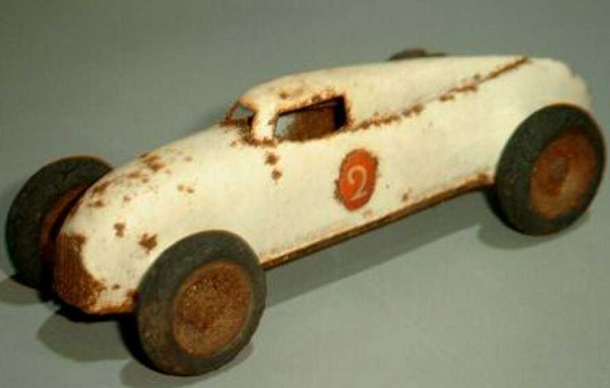 lehmann 808/1 penny toy racing car gnom-series white