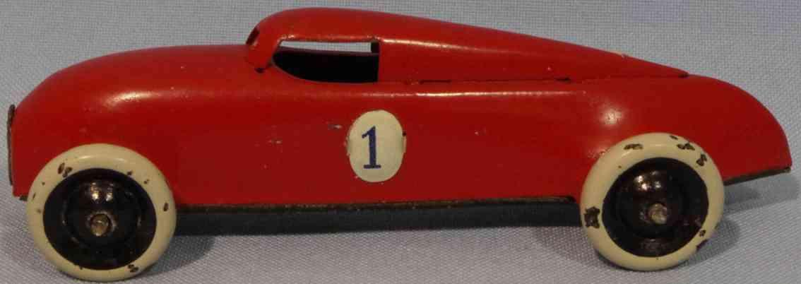 lehmann 808/1 penny toy racing car gnom-series red