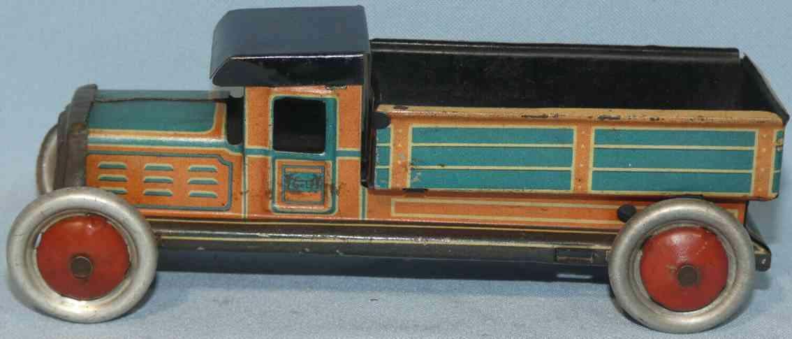 levy george gely 184 penny toy lastwagen mit pritsche als schiebemodell