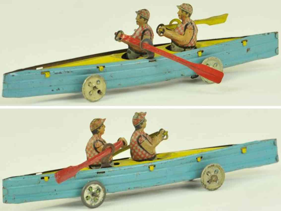 george levy gely penny toy zweier ruderboot