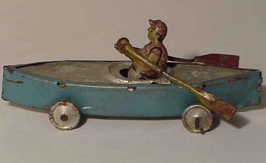 levy george gely penny toy rowing oarsman boat
