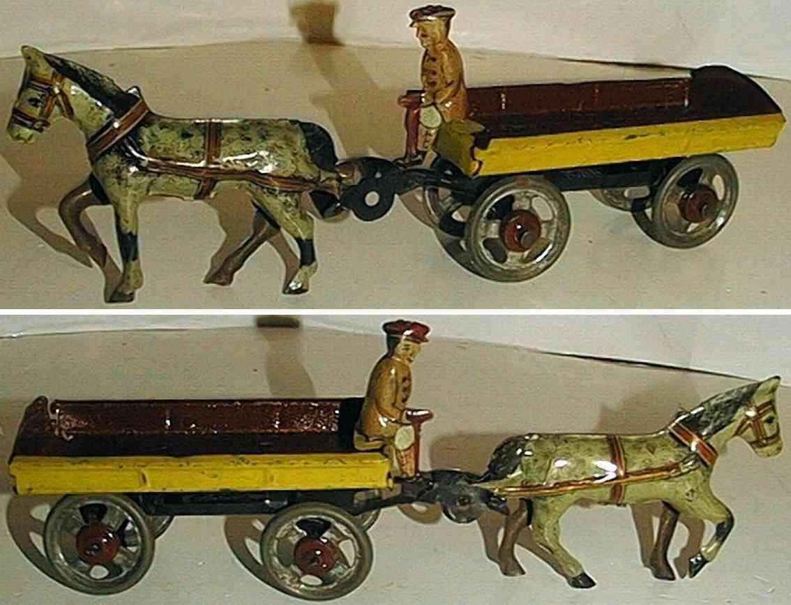 levy george gely penny toy bauer mit wagen und pferd