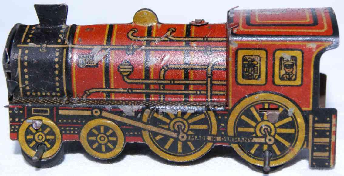 levy george gely penny toy dampf lokomotive rot schwarz