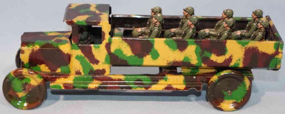 levy george gely penny toy mannschaftswagen mit besatzung