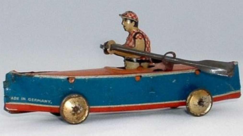 levy george gely 49 penny toy ruderboot  einer
