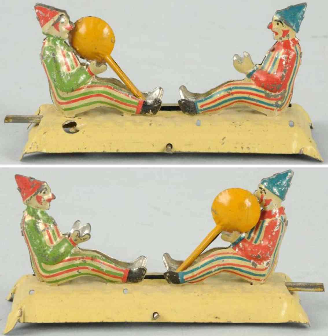 meier penny toy zwei clowns mit ball