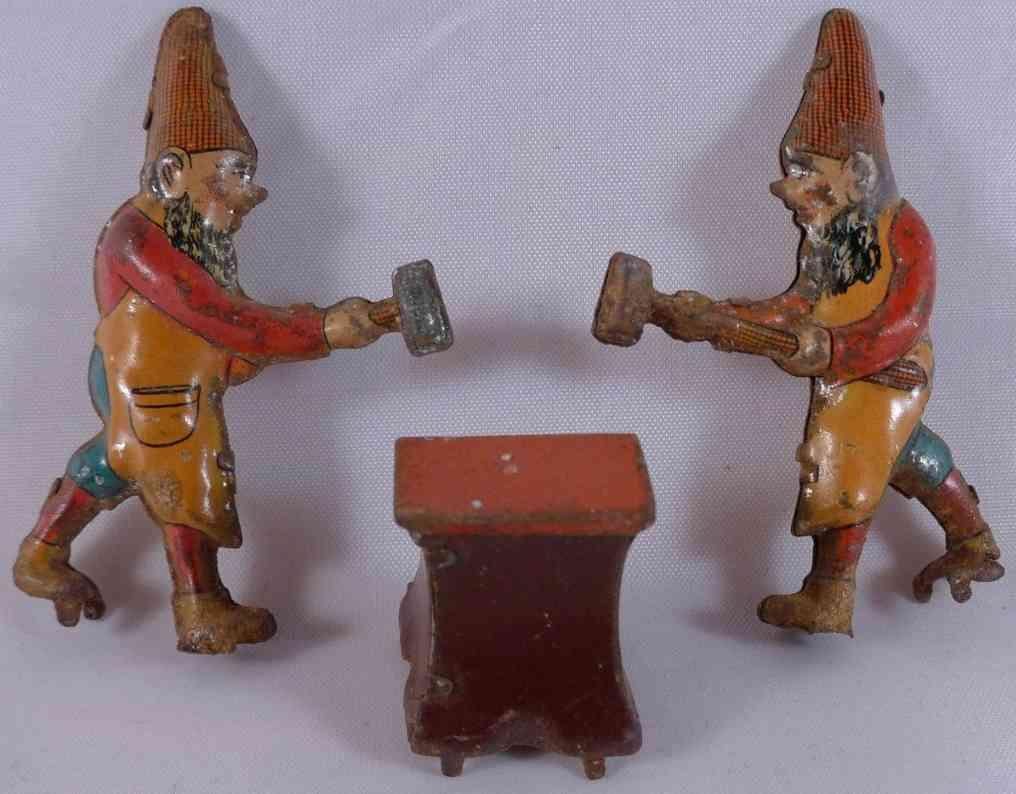 Penny Toy Zwei Zwerg als Schmied