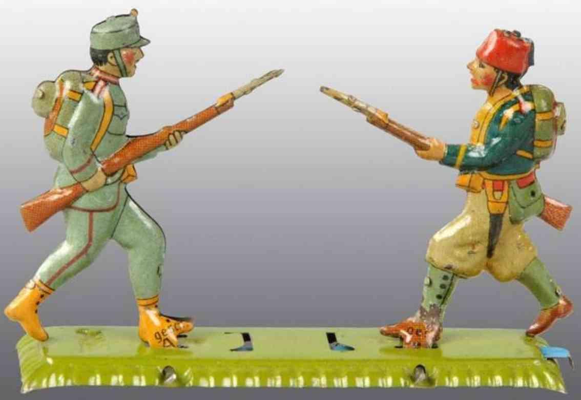 meier penny toy zwei soldaten auf plattform