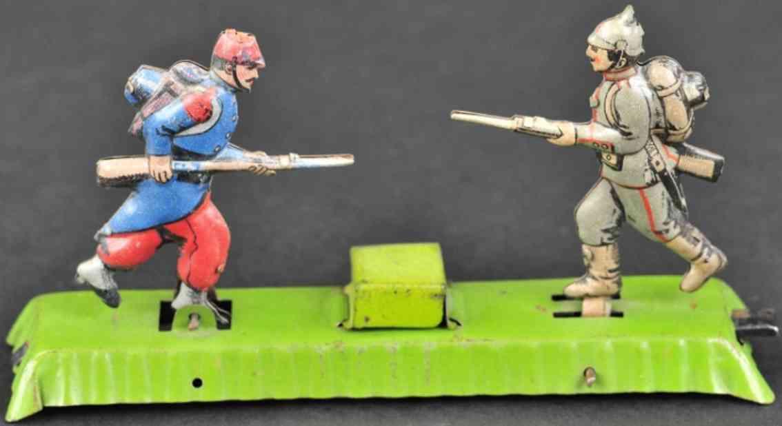 meier penny toy zwei soldaten gewehre bajonetten