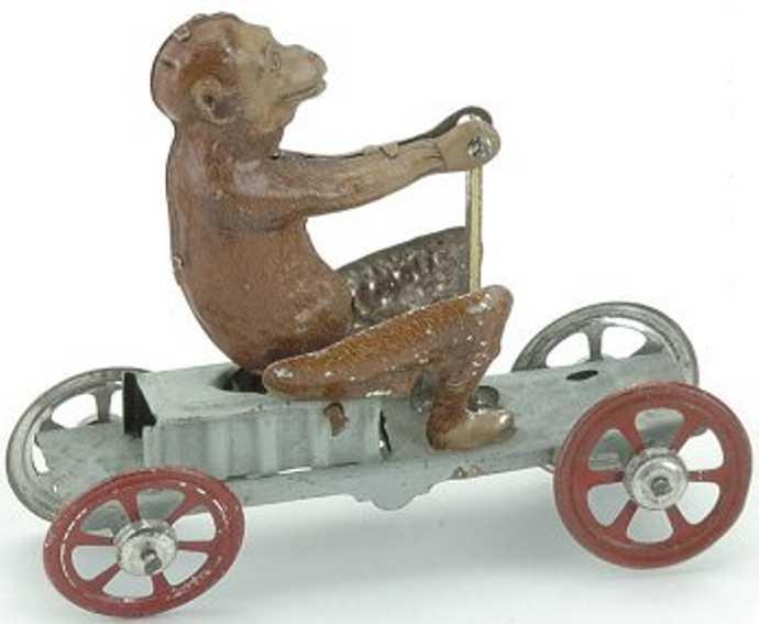 Meier Penny Toy Monkey on Irish mail