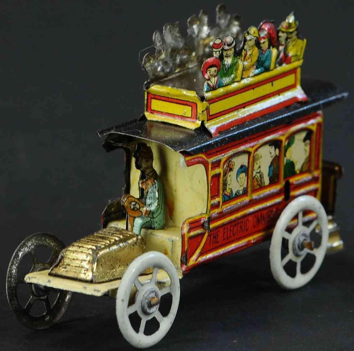 meier penny toy 1454 double decker bus