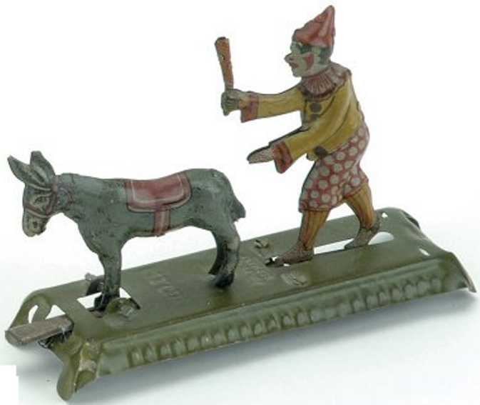 meier penny toy clown and mule platform