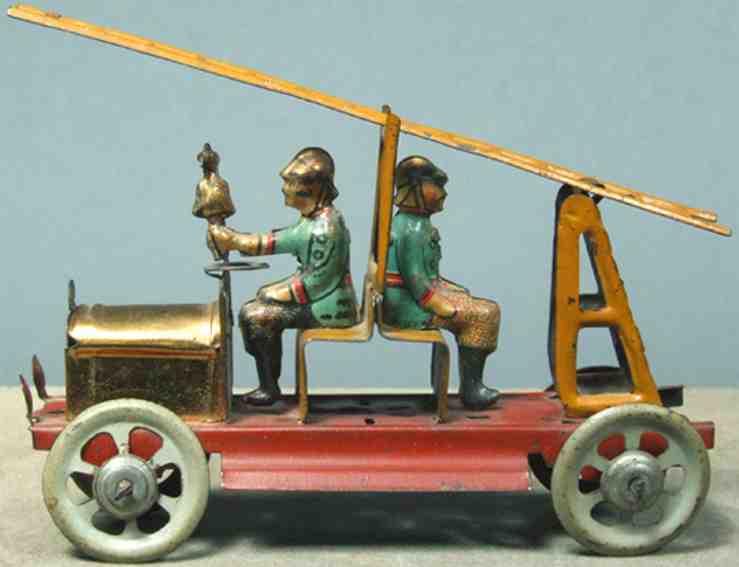 Meier Penny Toy fire brigade
