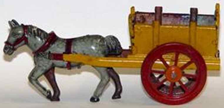 meier penny toy pferd mit karre