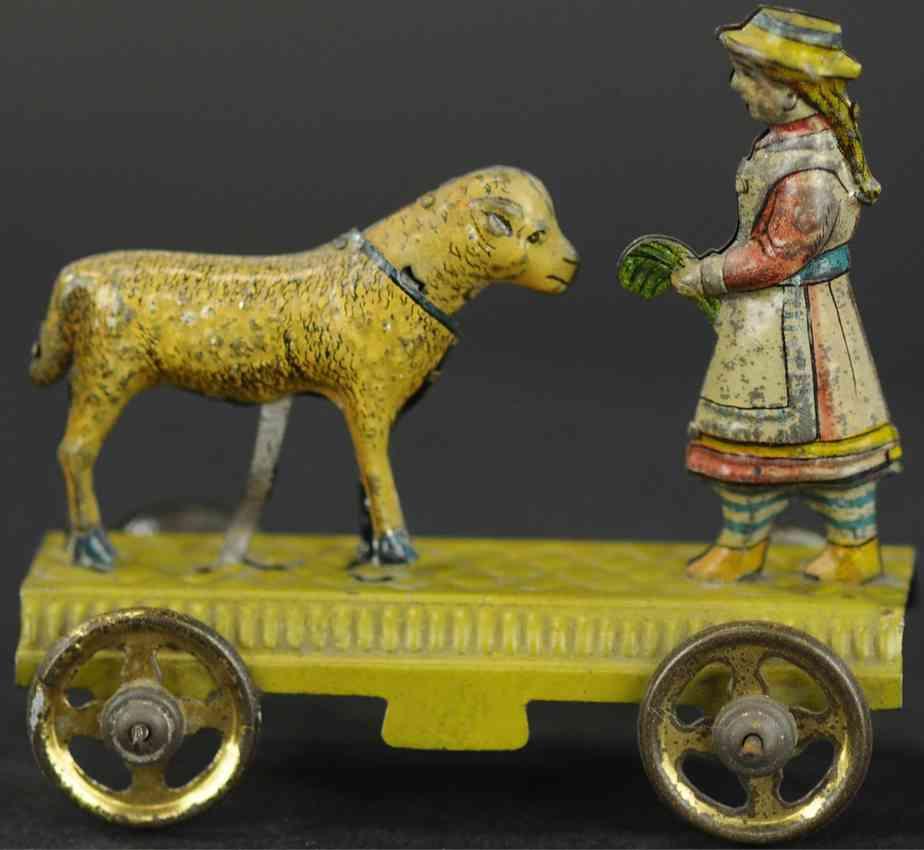 meier penny toy mary feeding her lamb