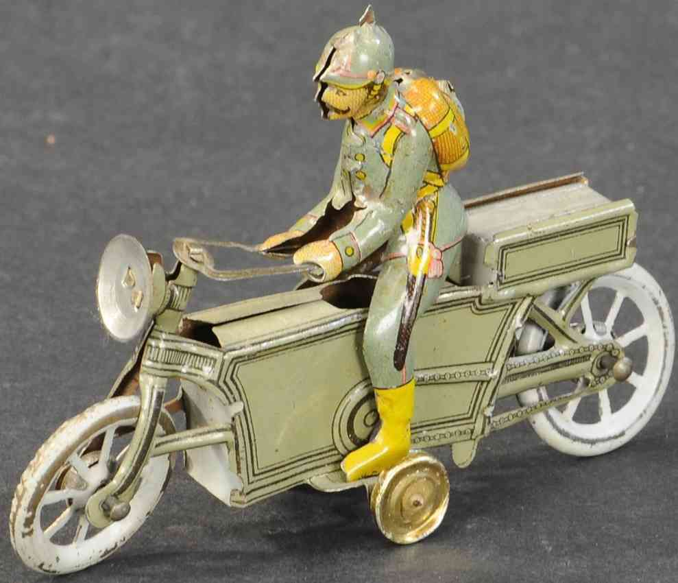 meier penny toy military motorcycle rider