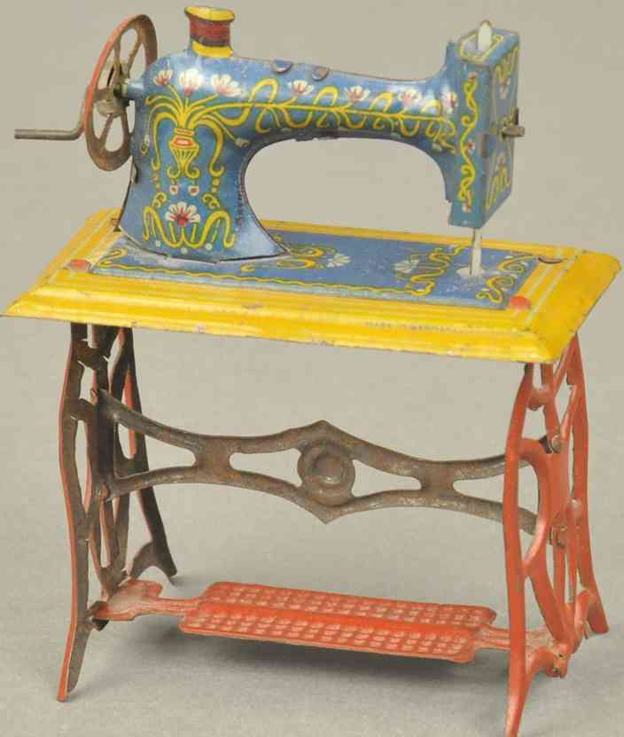meier penny toy naehmaschine rot blau gelb
