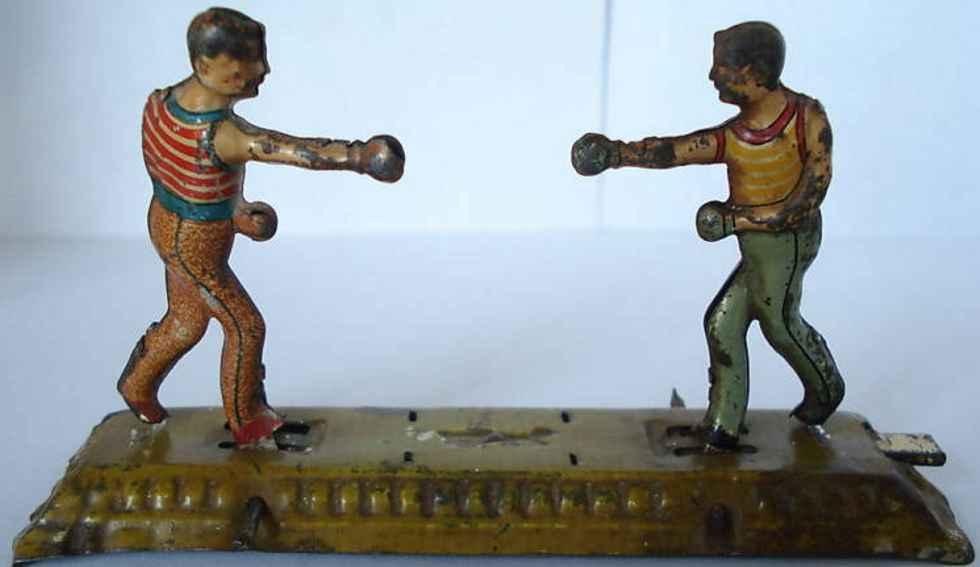 meier Boxer penny toy boxer tin platform