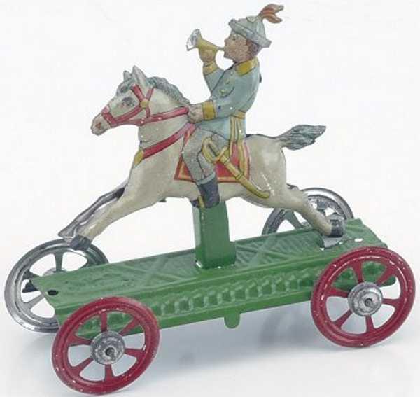 Meier Penny Toy Junge auf Pferd mit Horn